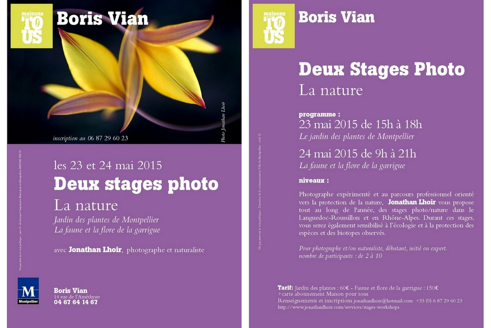 Stage photo Montpellier_Boris_Vian